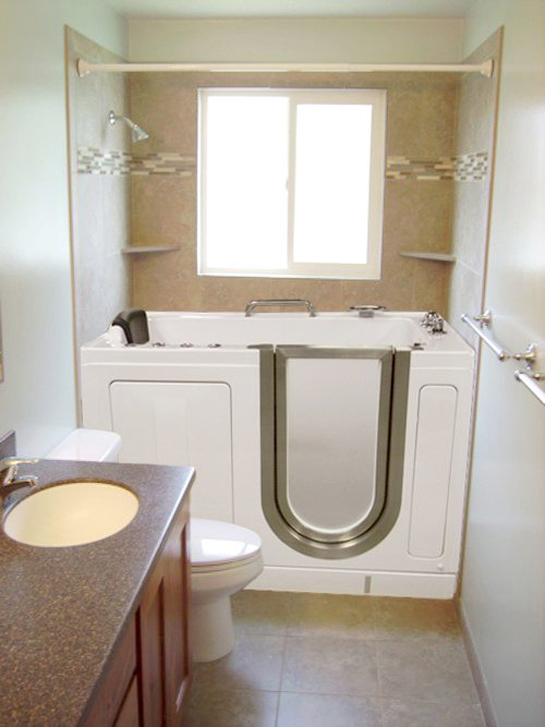 Built-In Bathroom