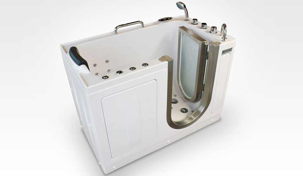 DELUXE PORTABLE HYDROTHERAPY WALK IN TUB Heavenly Walk In Tubs