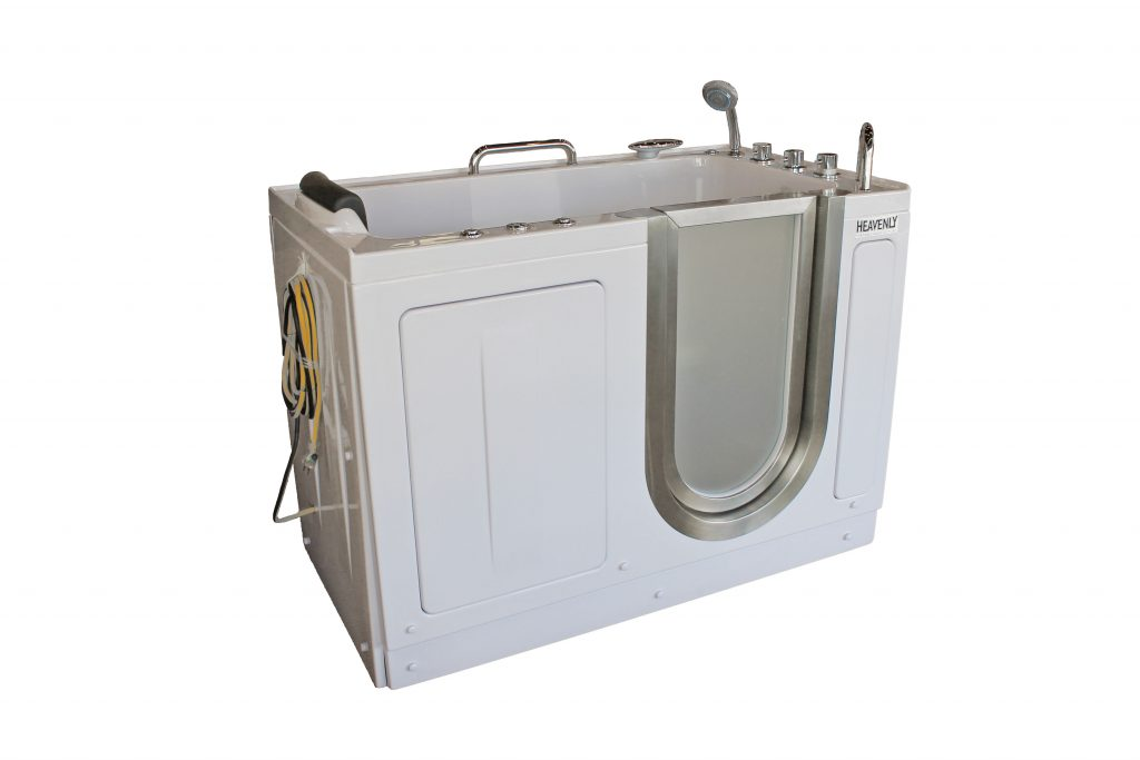 Deluxe Portable Hydrotherapy Walk In Tub Heavenly Walk