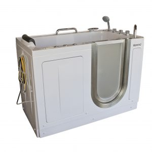 portable walk in bathtub. Deluxe Portable Hydrotherapy Walk In Tub Standard Soaker  Heavenly Tubs