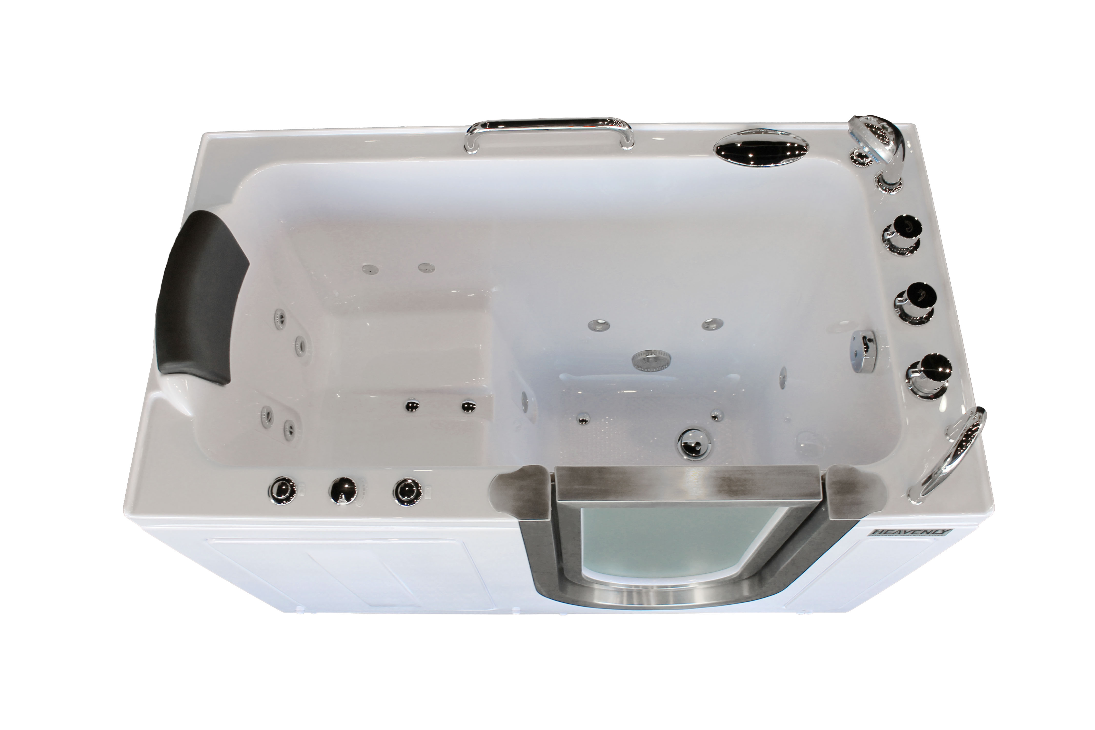 Deluxe Portable Hydrotherapy Walk-In Tub | Heavenly Walk In Tubs