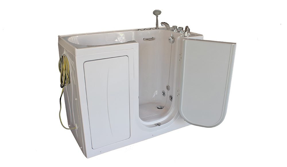 Portable Hydrotherapy Angle Open